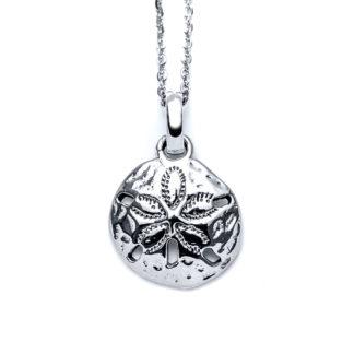 Madeira Sand Dollar Charm Necklace